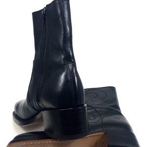 Frye Shoes - Frye Black Leather Sz 7.5 Mid Calf Boots